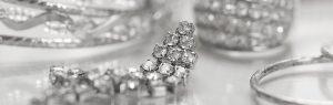 silver & diamond jewelry